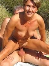 Beautiful female nudists sharing pussy secretly